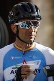 Ruben Plaza cyklist arkivbilder