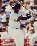 Ruben Sierra, Texas Rangers Photographie stock libre de droits