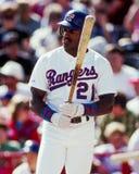 Ruben Sierra, Texas Rangers Photos stock