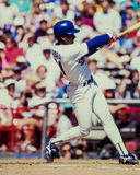 Ruben Sierra, Texas Rangers DE Images stock