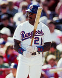 Ruben Sierra, Texas Rangers Stock Photos