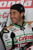 Ruben Xaus - Honda CBR1000RR - Castrol Honda. In the world Superbike Championship SBK Royalty Free Stock Photography