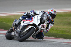 Ruben Xaus SBK 2010 Royalty Free Stock Photography
