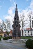 Rubenow-Denkmal Greifswald Stockfotos