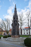 Rubenow minnesmärke Greifswald arkivfoton