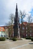 Rubenowgedenkteken Greifswald Stock Afbeeldingen
