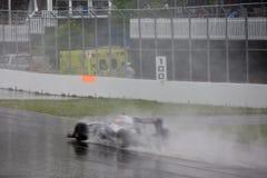 Rubens Barrichello emballant au prix grand de Montréal Image stock