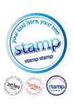 Ruber stamp Royalty Free Stock Photo