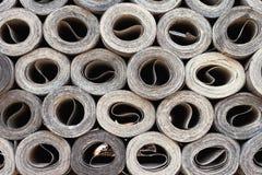 Ruberoid del material de material para techos Imagenes de archivo