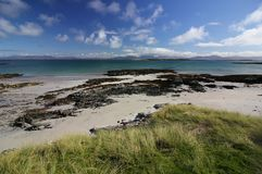 Rubha Ban beach, Isle of Oronsay, Scotland Stock Photography