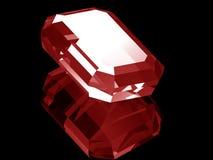 rubi 3d Imagem de Stock Royalty Free