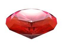Rubi do vermelho do sangue Imagens de Stock Royalty Free