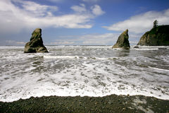 rubi na plaży Obraz Stock