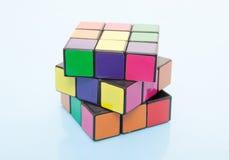 Rubic sześcian zdjęcie royalty free