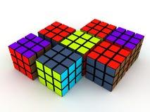 Rubick S Cubes Stock Photos