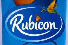 Rubicon logo Obraz Stock