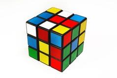 Rubicskubus stock afbeelding