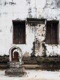 Rubieżny markier Tajlandzka świątynia Zdjęcie Royalty Free