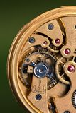 Rubies. Open antique watch with rubies Royalty Free Stock Images
