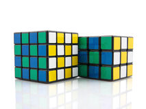 Rubik的多维数据集 库存照片