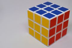 Rubik立方体 免版税库存照片