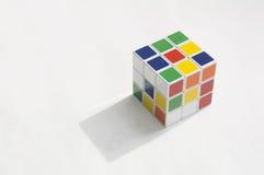 Rubik łamigłówki sześcianu hobby gier artykułu wstępnego móżdżkowy pojęcie Zdjęcia Royalty Free