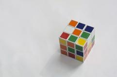 Rubik łamigłówki sześcianu hobby gier artykułu wstępnego móżdżkowy pojęcie Fotografia Royalty Free