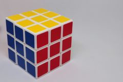 Rubik ο κύβος Στοκ Εικόνες