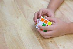 Rubik cúbico Fotografía de archivo