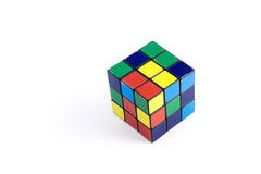 Rubik color cube Royalty Free Stock Photo