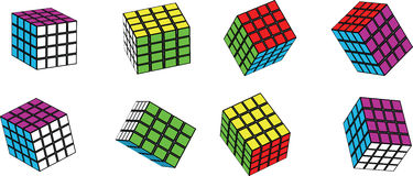 Rubik cube Royalty Free Stock Images