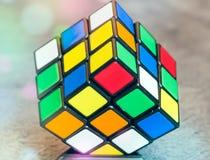 Rubik cube toy Royalty Free Stock Photography