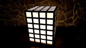 Rubik ljus Arkivbild