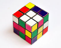 Rubik magic cube Stock Photos