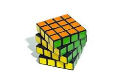 Rubik's Cube. World famous rubik's cube with white background Stock Photography