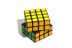 Rubik's Cube. World famous rubik's cube with white background Stock Image