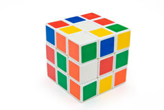 Rubik's Cube. With clipping path Stock Photo