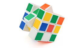 Rubik's Cube. With clipping path Royalty Free Stock Images