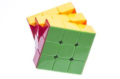 Rubik's cube Royalty Free Stock Photos