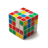 Rubik's cube isolated Stock Photography