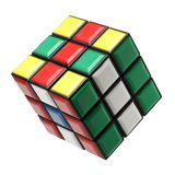 Rubik`s cube three type is good for brain royalty free stock images