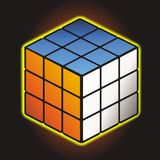 Rubik`s cube stock image
