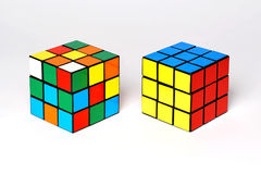 Rubik's cubes Stock Photos