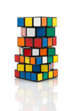 Rubik's Cubes Royalty Free Stock Photos