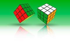 Rubik ` s Kube 皇族释放例证