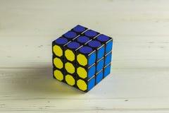 Rubik` s Kubus Royalty-vrije Stock Fotografie