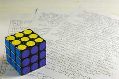 Rubik` s Kubus Stock Afbeeldingen