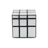 Rubik's mirror blocks Royalty Free Stock Images