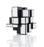 Rubik's mirror blocks Stock Photos
