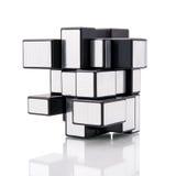 Rubik's mirror blocks Stock Image